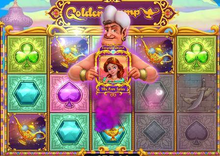 golden lamp slots game demo