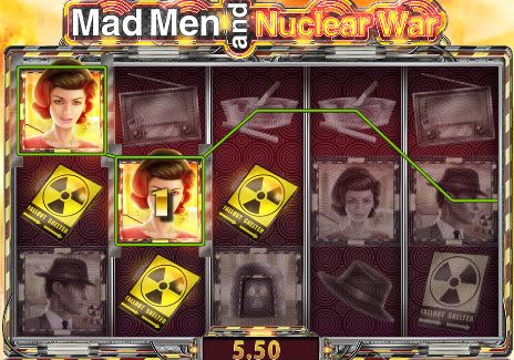 Mad man and the Nuclear War Video Slot
