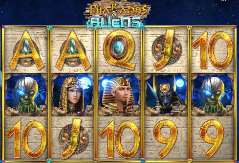 Pharaohs and Aliens Slots game