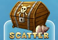 Treasure Chest symbol - has the Scatter function of the Ocean Reef game