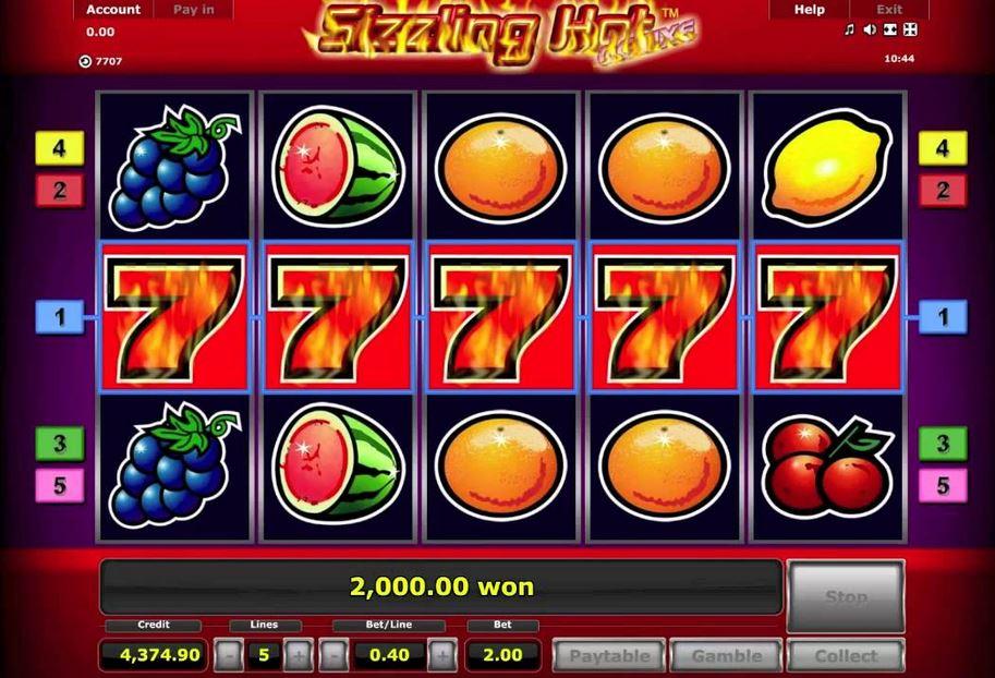 Sizzling Gaminator Games