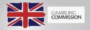 Logo of the United Kingdom gambling commision