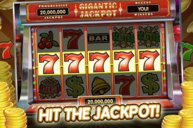 Big Jackpot on a slot machine