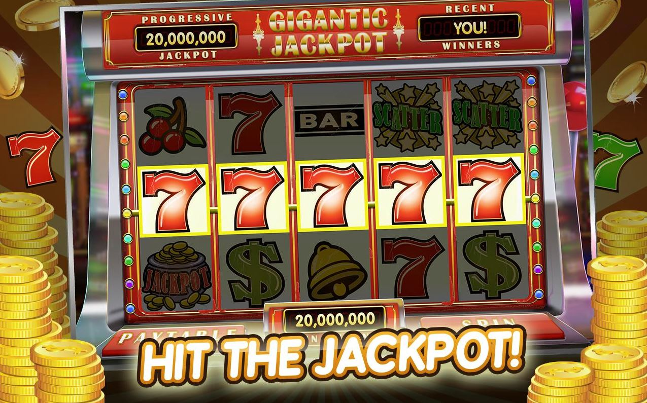 Big Jackpot on a slot machine